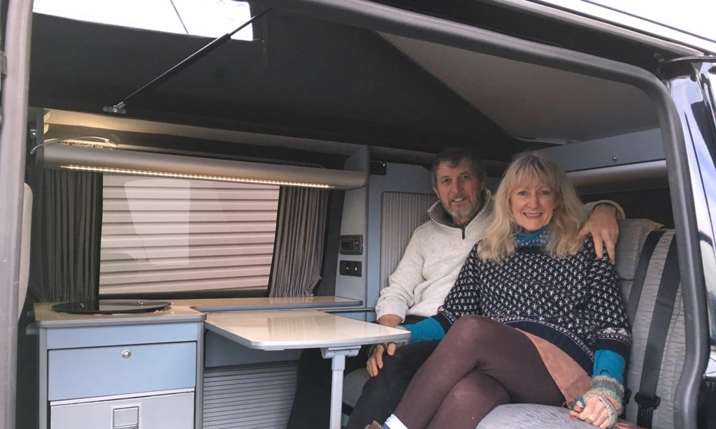 Sarah-and-Steve-in-a-new-VW-T5-camper-conversion-by-Chilli-Jam-VansJPG