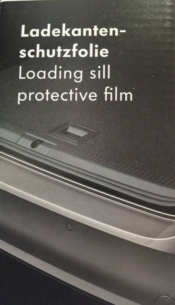 VW T6 bumper protective clear film