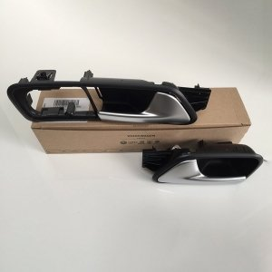 VW-Caddy-brushed-chrome-handle-pair-van