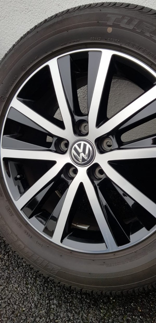 VW T6 edition alloy wheels 17 inch