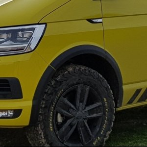 wheel arch protector VW T6 Transporter