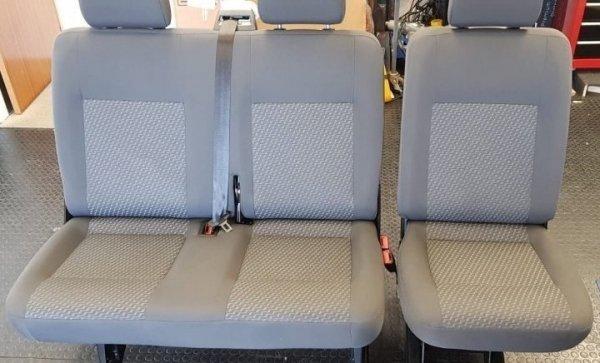 tassimo kombi seats 2 + 1 vw t5