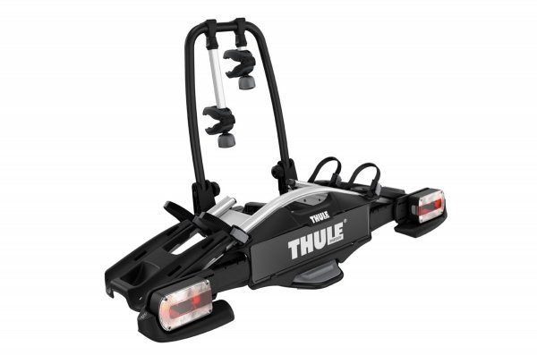 Thule Velo Compact 2 is a lightweight bike rack for everyday use (for 2 bikes). Features: Easy mounting of bikes through detachable bike arms with lockable knobs