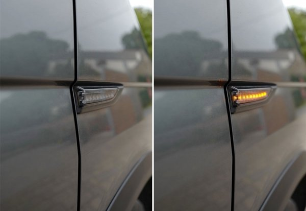 vw t6 side indicator repeater in smoked colour