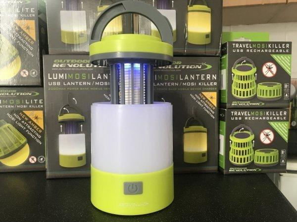 NEW USB rechargeable Lumi-Mosi Mosquito Killer Lantern