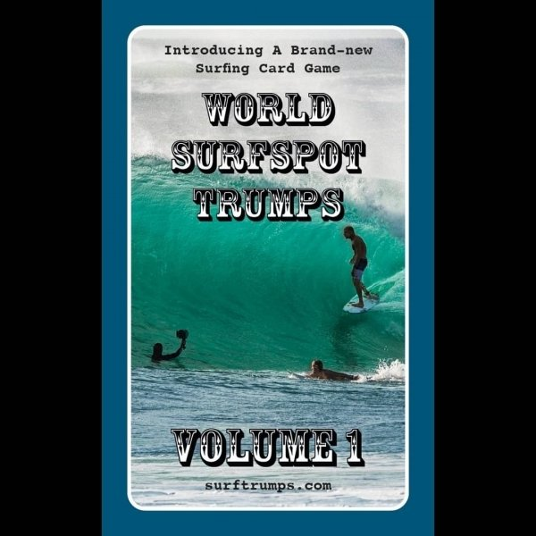world surf trump card game