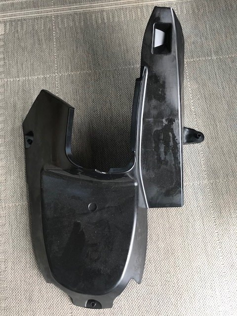 VW T6 centre console electric cover
