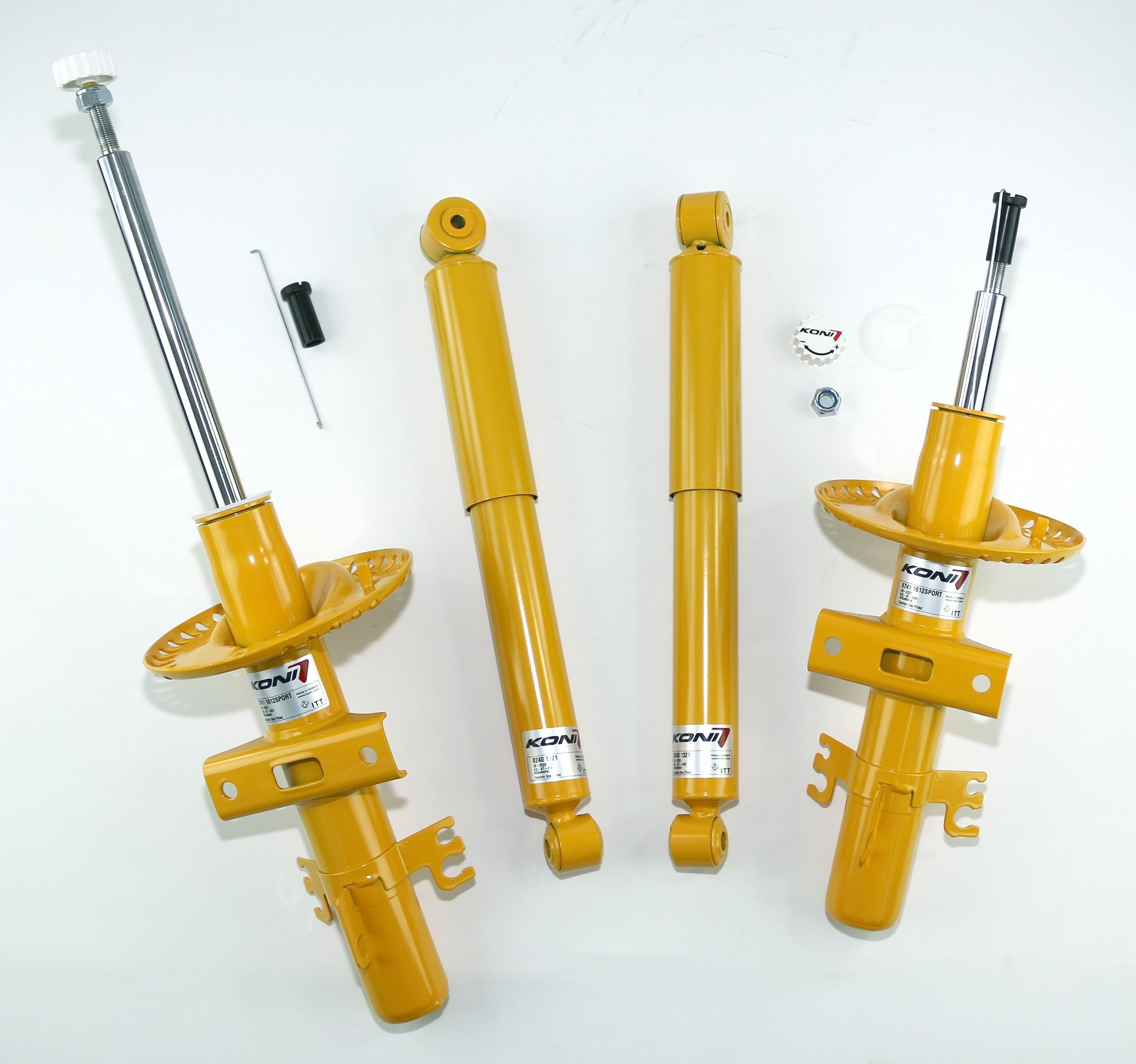 koni-lift-dampers-yellow for vw t5, t6 and t6.1