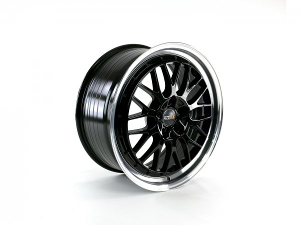 Twin-Monotube-Projekt-vintage-gloss-black-polished-wheel-for-VW-t5-t6-and-t6.1
